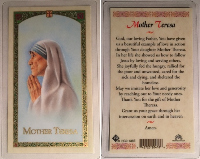 Saint Teresa of Calcutta
